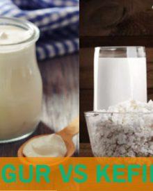 diferencias yogur kefir